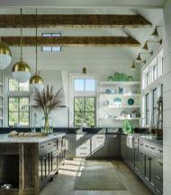 Modern farmhouse kitchen design ideas 24