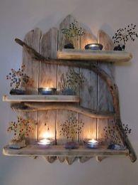 Simple diy rustic home decor ideas 18