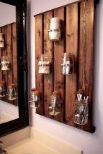 Simple diy rustic home decor ideas 38