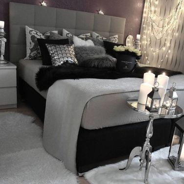 Stylish stylish black and white bedroom ideas (1)