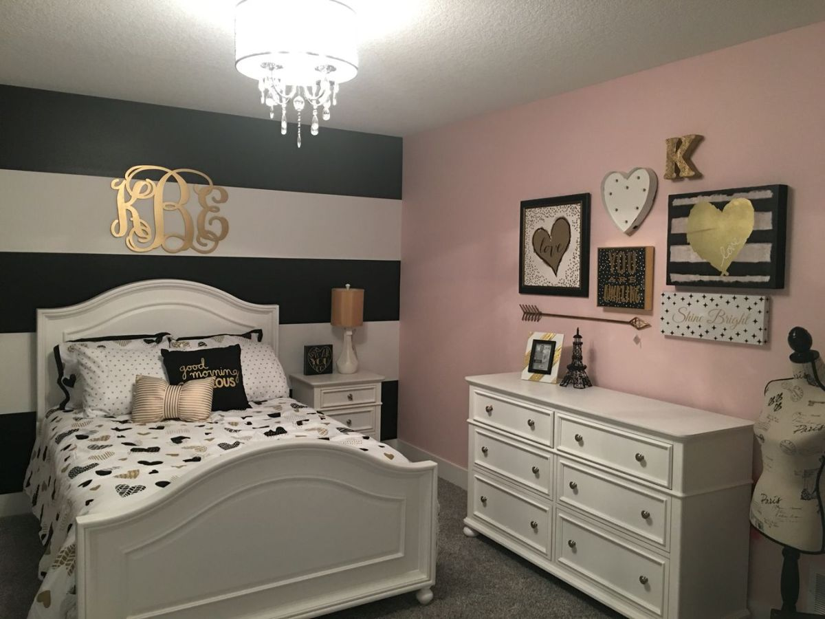 Stylish stylish black and white bedroom ideas (12)