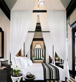 Stylish stylish black and white bedroom ideas (14)