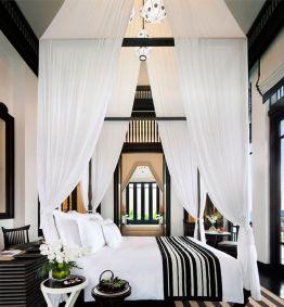 Stylish stylish black and white bedroom ideas (14)