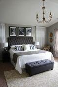 Stylish stylish black and white bedroom ideas (17)