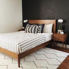 Stylish stylish black and white bedroom ideas (3)
