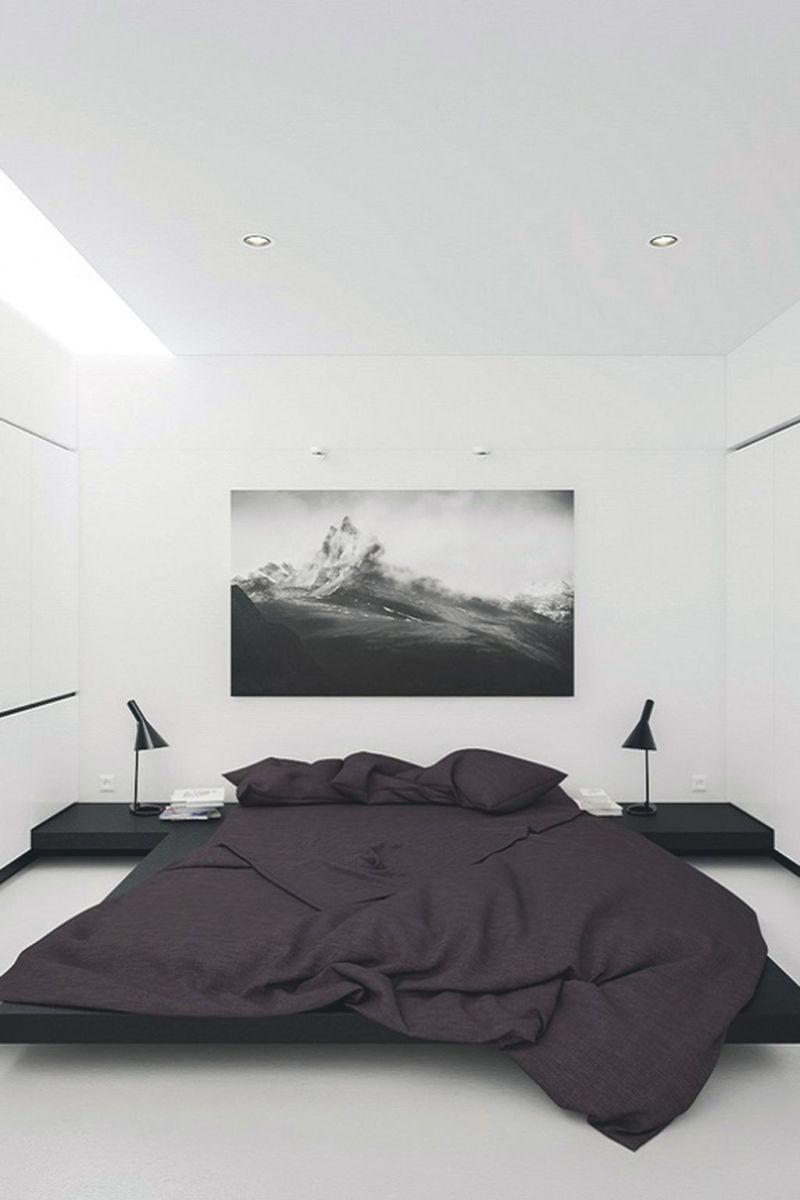 Stylish stylish black and white bedroom ideas (50)