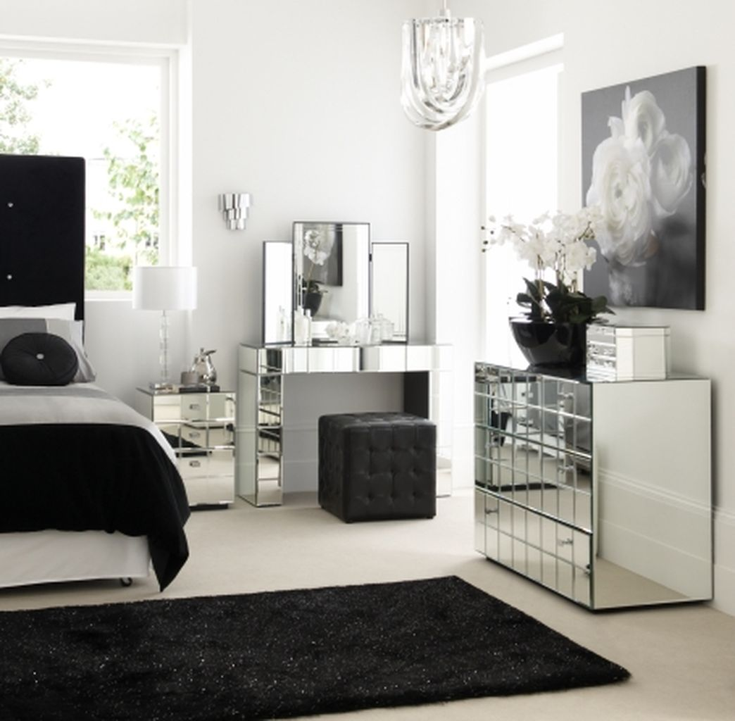 Stylish stylish black and white bedroom ideas (53)