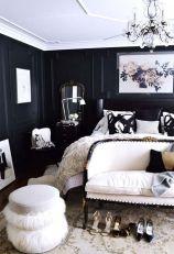 Stylish stylish black and white bedroom ideas (58)