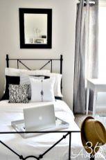 Stylish stylish black and white bedroom ideas (60)