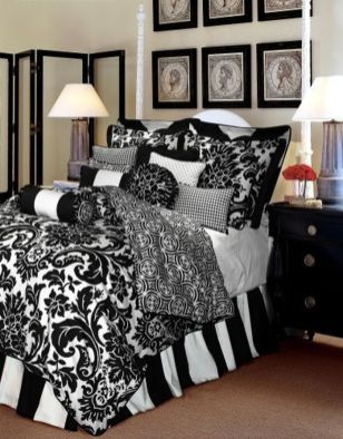 Stylish stylish black and white bedroom ideas (61)