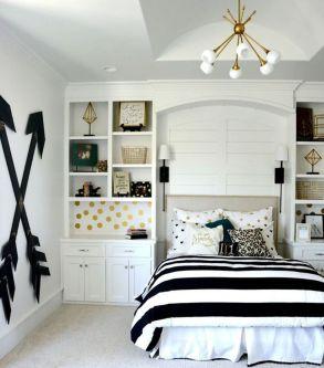 Stylish stylish black and white bedroom ideas (8)