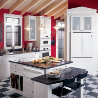 Amazing black and red kitchen decor 05