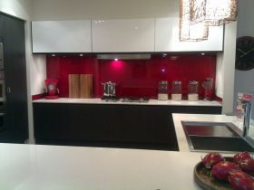 Amazing black and red kitchen decor 29