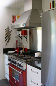 Amazing black and red kitchen decor 35