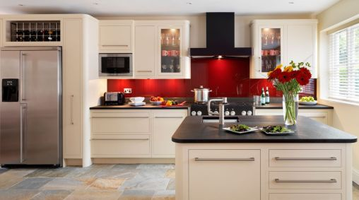Amazing black and red kitchen decor 53
