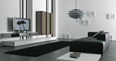 Amazing black and white furniture ideas 13