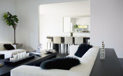 Amazing black and white furniture ideas 27