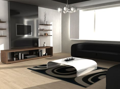 Amazing black and white furniture ideas 32