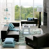 Amazing black and white furniture ideas 38