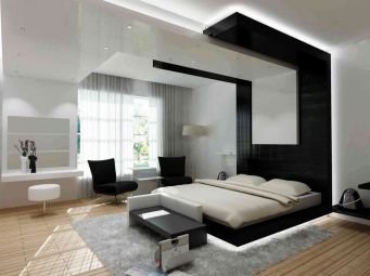 Amazing black and white furniture ideas 39