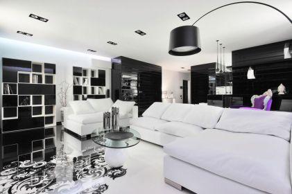 Amazing black and white furniture ideas 45