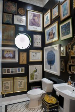 Amazing guest bathroom decorating ideas 11
