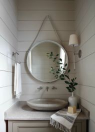 Amazing guest bathroom decorating ideas 12