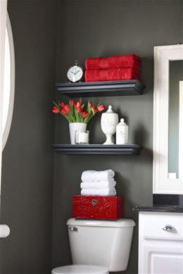 Amazing guest bathroom decorating ideas 36