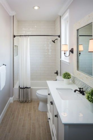 Amazing guest bathroom decorating ideas 50