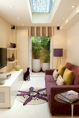 Amazing small living room decor ideas with sectional 02