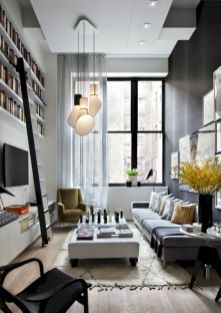 Amazing small living room decor ideas with sectional 42