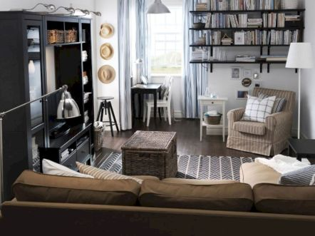 Amazing small living room decor ideas with sectional 54