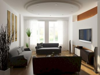 Amazing small living room decor ideas with sectional 58