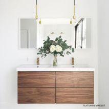 Bathroom vanity ideas with makeup station 03