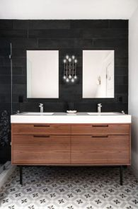 Bathroom vanity ideas with makeup station 05