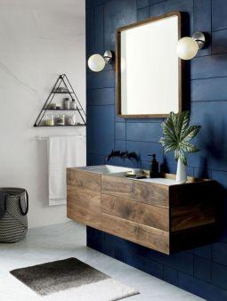 Bathroom vanity ideas with makeup station 06