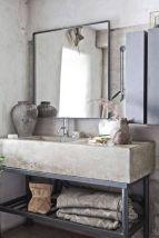 Bathroom vanity ideas with makeup station 23