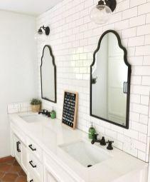 Bathroom vanity ideas with makeup station 30