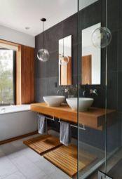 Bathroom vanity ideas with makeup station 31
