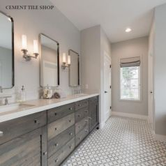 Bathroom vanity ideas with makeup station 38