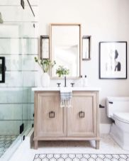 Bathroom vanity ideas with makeup station 57