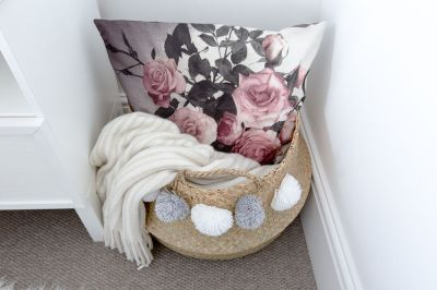 Beautiful bedroom design ideas using grey carpet 025