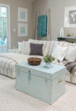 Beautiful bedroom design ideas using grey carpet 033