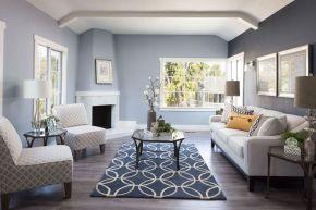 Beautiful bedroom design ideas using grey carpet 041