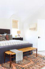 Beautiful bedroom design ideas using grey carpet 050