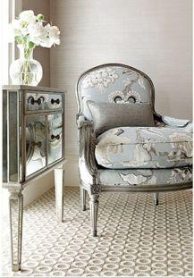 Beautiful bedroom design ideas using grey carpet 059