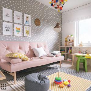 Beautiful bedroom design ideas using grey carpet 070