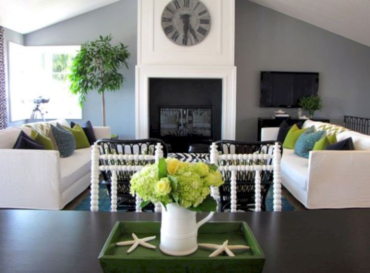 Beautiful grey living room decor ideas 04