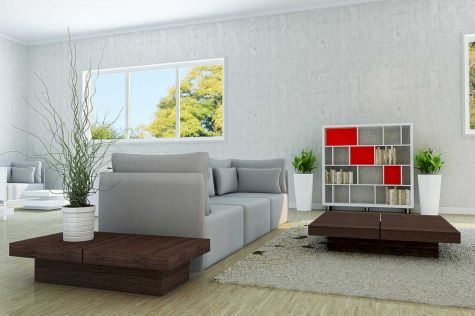 Beautiful grey living room decor ideas 31