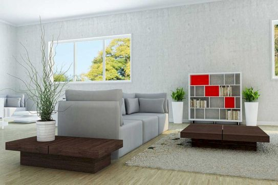 Beautiful grey living room decor ideas 31